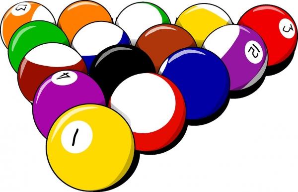 8 golyós poolt játszani